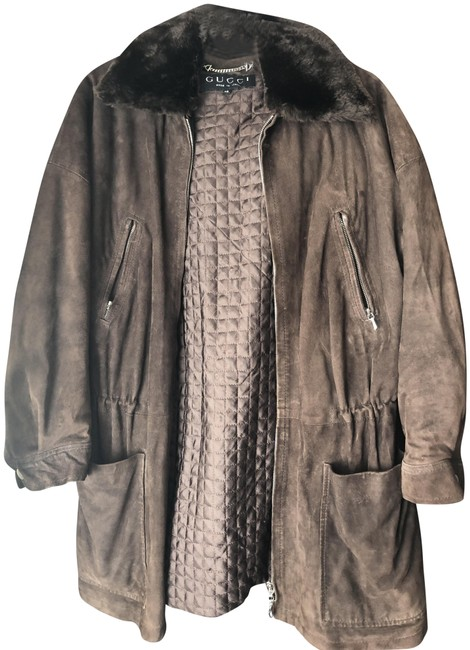 Item - Brown Vintage Style) Padded Layer Jacket Size 10 (M)