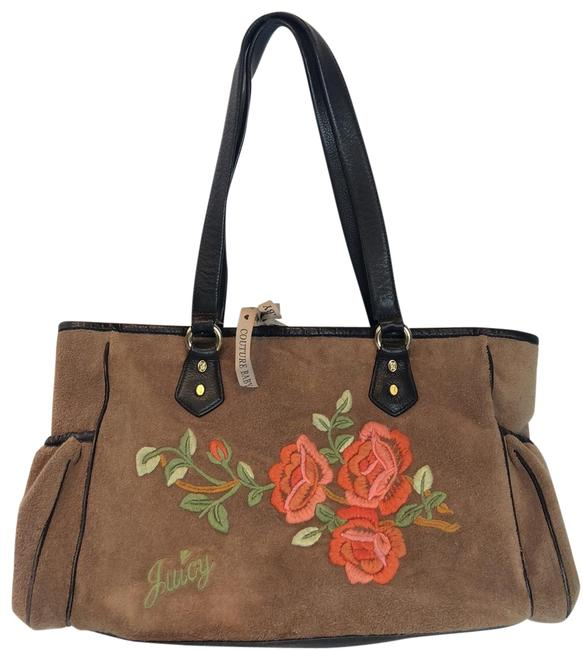 Item - Baby Embroidered Brown Tote