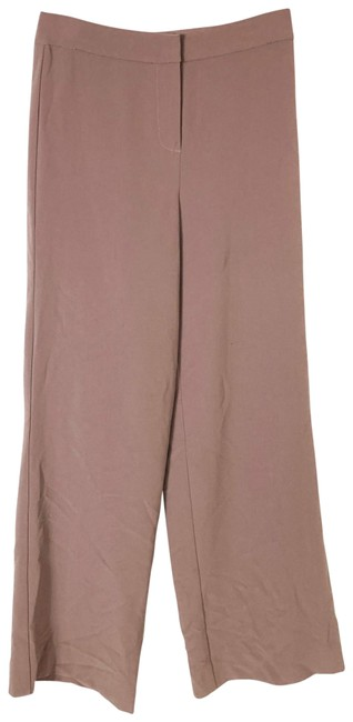 Item - Brown Taupe Dress Straight Leg Slacks Solid C Pants Size 2 (XS, 26)