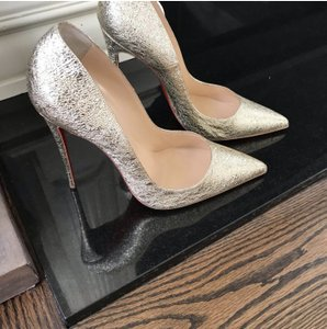 Christian Louboutin Size So Kate Heels So Kate Gold Pumps