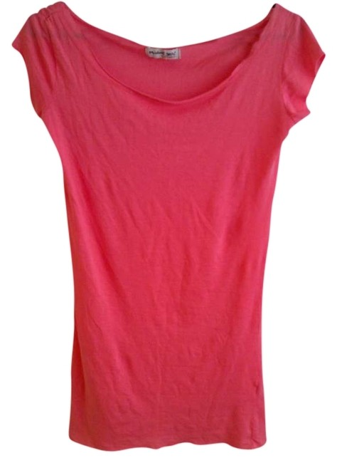 Preload https://item3.tradesy.com/images/michael-stars-pink-tee-shirt-size-6-s-260517-0-0.jpg?width=400&height=650