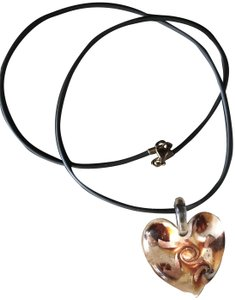 Antica Murrina Murano Glass Heart necklace