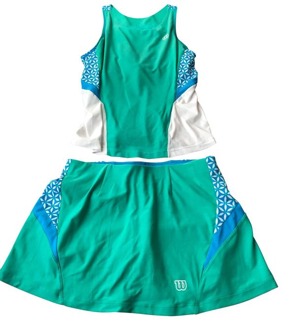 Item - Blue White Green Tennis Activewear Size 4 (S)