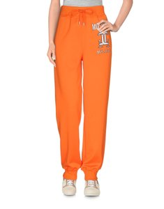 Moschino Print Logo Monogram Belted Embroidered Athletic Pants Multicolor
