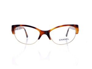 Chanel Chanel CH 3239-Q c.1295 51mm Quilted Leather Eyeglasses RX Frames
