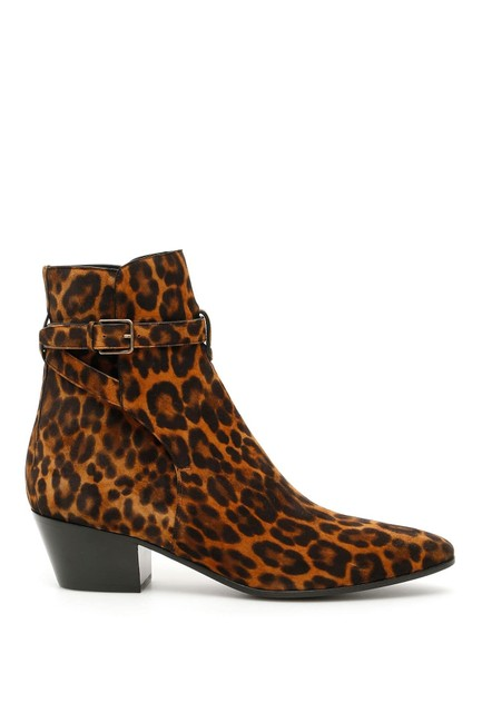 Saint Laurent Animal Cr New West 45 7 Boots/Booties Size EU 37 (Approx. US 7) Regular (M, B) Saint Laurent Animal Cr New West 45 7 Boots/Booties Size EU 37 (Approx. US 7) Regular (M, B) Image 1