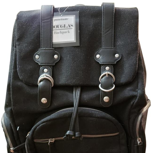 Item - Sturdy For Computer Black Canvas Backpack