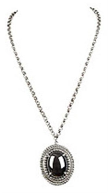Whiting & Davis Silver Hematite Necklace Whiting & Davis Silver Hematite Necklace Image 1