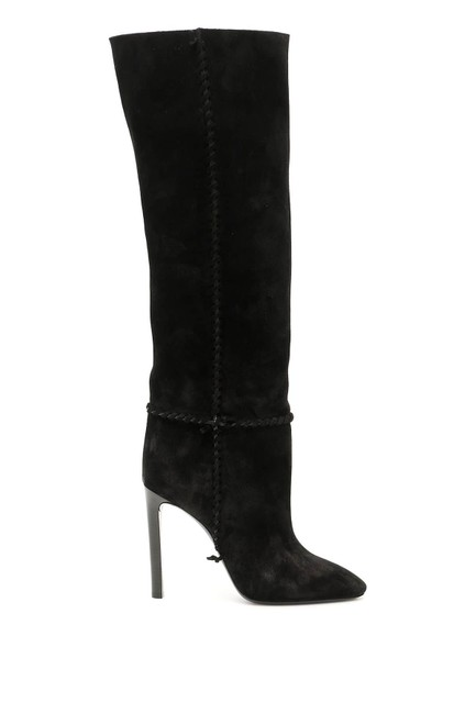 Saint Laurent Black Cr New Mica 6 Boots/Booties Size EU 36 (Approx. US 6) Regular (M, B) Saint Laurent Black Cr New Mica 6 Boots/Booties Size EU 36 (Approx. US 6) Regular (M, B) Image 1