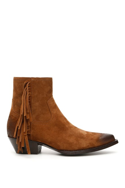 Saint Laurent Brown Cr New Lukas 40 Suede Ankle 11 Boots/Booties Size EU 41 (Approx. US 11) Regular (M, B) Saint Laurent Brown Cr New Lukas 40 Suede Ankle 11 Boots/Booties Size EU 41 (Approx. US 11) Regular (M, B) Image 1
