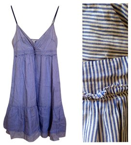 American Eagle Outfitters short dress Blue and White Stripe on Tradesy