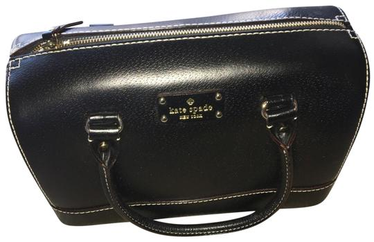 Preload https://img-static.tradesy.com/item/26053680/kate-spade-black-leather-satchel-0-2-540-540.jpg