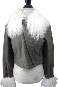 BCBGMAXAZRIA Runway New With Tags Cropped Victor Motorcycle Jacket