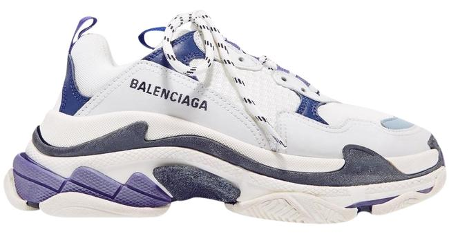 Balenciaga Triple S Logo-embroidered Leather Nubuck and Mesh Sneakers Size EU 41 (Approx. US 11) Regular (M, B) Balenciaga Triple S Logo-embroidered Leather Nubuck and Mesh Sneakers Size EU 41 (Approx. US 11) Regular (M, B) Image 1