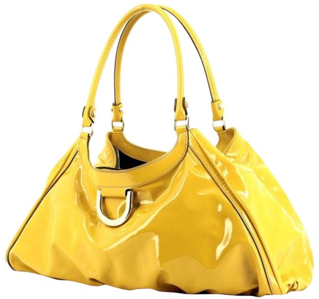 Item - Yellow Patent Leather Hobo Bag