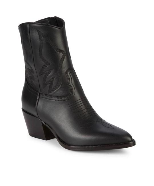 Valentino Black Western Cowboys Boots/Booties Boots/Booties Size EU 40 (Approx. US 10) Regular (M, B) Valentino Black Western Cowboys Boots/Booties Boots/Booties Size EU 40 (Approx. US 10) Regular (M, B) Image 1
