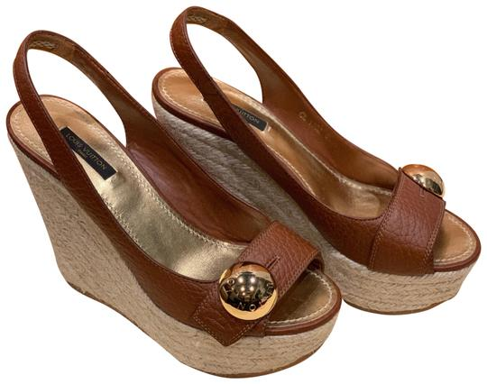 Preload https://img-static.tradesy.com/item/26054474/louis-vuitton-brown-espadrille-wedges-size-eu-375-approx-us-75-regular-m-b-0-2-540-540.jpg