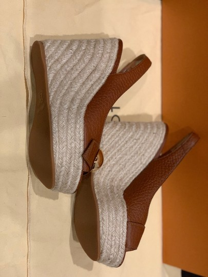 Louis Vuitton Brown Wedges Image 2