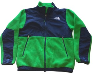 The North Face Green and Navy Jacket