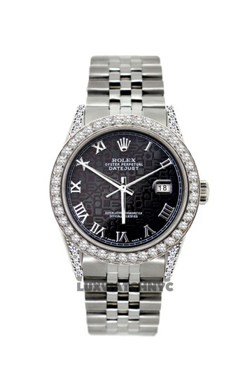 Preload https://img-static.tradesy.com/item/26054863/rolex-black-jubilee-dial-5ct-36mm-datejust-stainless-steel-with-appraisal-watch-0-0-540-540.jpg