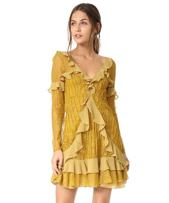 Preload https://img-static.tradesy.com/item/26054916/for-love-and-lemons-chartreuse-daphne-lace-mini-short-cocktail-dress-size-2-xs-0-0-650-650.jpg