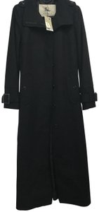 Burberry Wool Cashmere Fall Trench Coat
