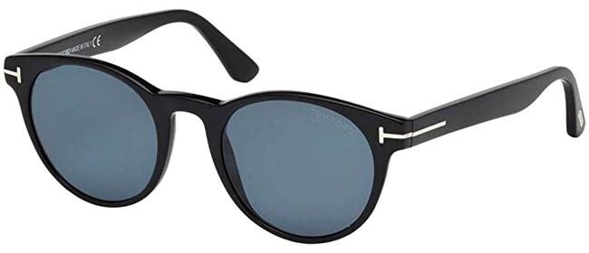 Tom Ford Ft0522 01v Shiny Black Palmer Sunglasses Tom Ford Ft0522 01v Shiny Black Palmer Sunglasses Image 1