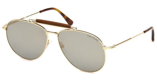 Tom Ford Ft0536 28c Shiny Rose Gold Sean Sunglasses Tom Ford Ft0536 28c Shiny Rose Gold Sean Sunglasses Image 1