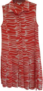 CAbi short dress Red and White on Tradesy