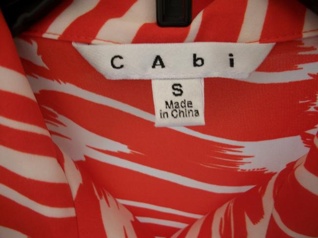 CAbi short dress Red and White on Tradesy Image 2