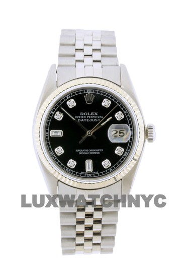 Preload https://img-static.tradesy.com/item/26055284/rolex-black-dial-36mm-datejust-stainless-steel-withappraisal-watch-0-0-540-540.jpg