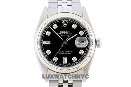ROLEX 36mm Datejust Stainless steel withAppraisal Image 1