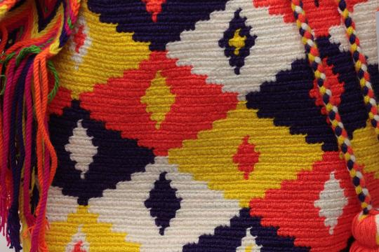 Wayuu Tribe Boho Chic Casual Hobo Bag Image 2