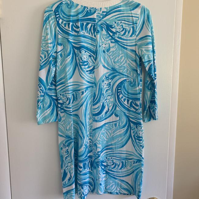 Lilly Pulitzer short dress Blue and White on Tradesy Image 1