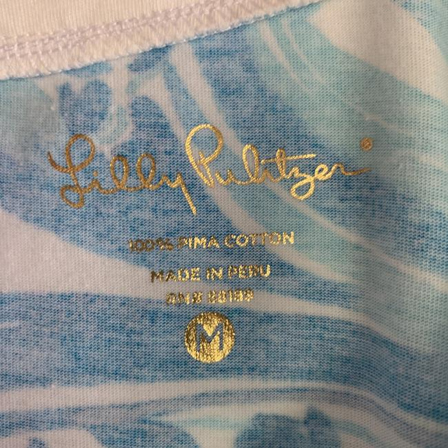 Lilly Pulitzer short dress Blue and White on Tradesy Image 4