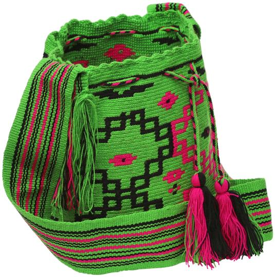 Wayuu Tribe Boho Chic Casual Hobo Bag Image 0