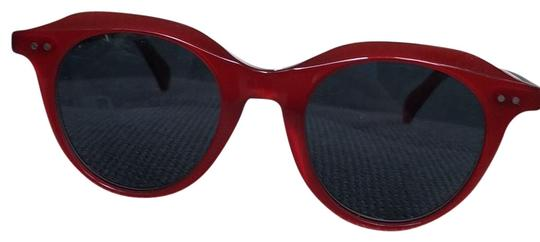 Preload https://img-static.tradesy.com/item/26055390/celine-red-round-cl41458-c9a-sunglasses-0-2-540-540.jpg
