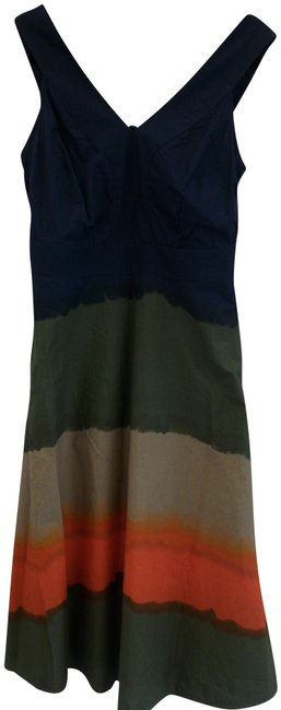 Preload https://img-static.tradesy.com/item/26055415/tommy-hilfiger-multi-color-new-with-tag-cotton-tie-dye-sun-mid-length-short-casual-dress-size-6-s-0-2-650-650.jpg