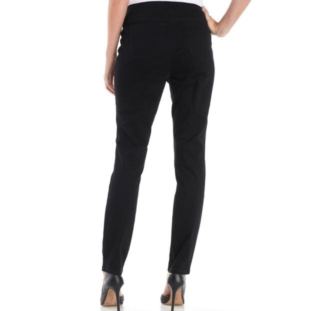 New Directions Jeggings-Dark Rinse Image 1