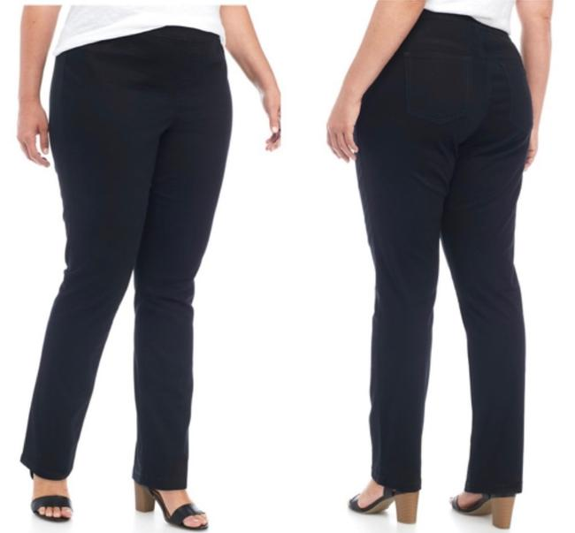 New Directions Jeggings-Dark Rinse Image 2