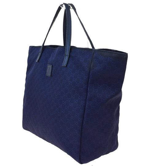 Gucci Tote in Navy Blue Image 1