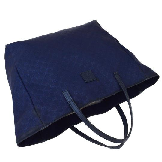 Gucci Tote in Navy Blue Image 2