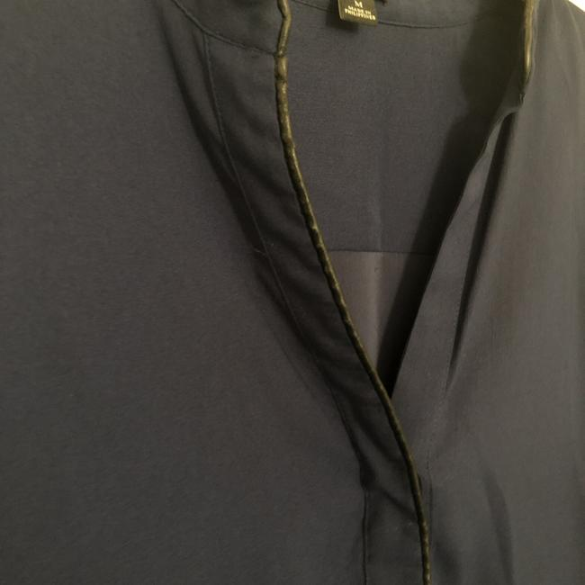 Ann Taylor Top navy blue Image 2
