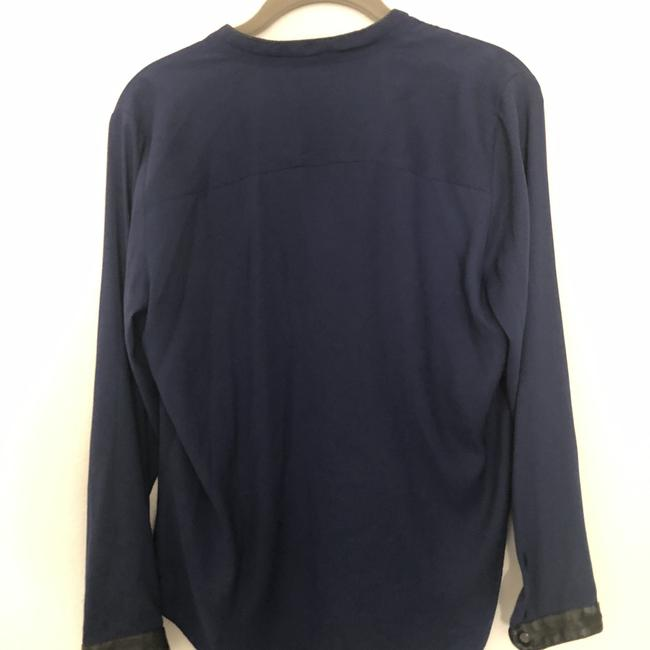 Ann Taylor Top navy blue Image 4