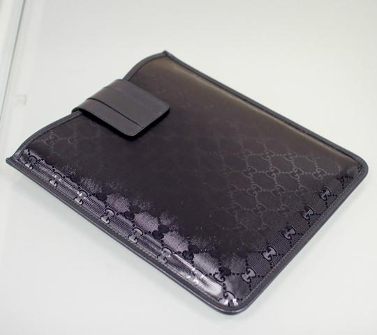 Gucci GUCCI GG Document/iPad/Tablet Case Navy Blue Imprime 256575 4009 Image 3