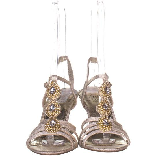 Adrianna Papell Beige Wedges Image 1