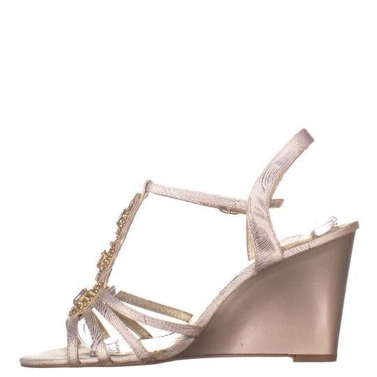 Adrianna Papell Beige Wedges Image 3