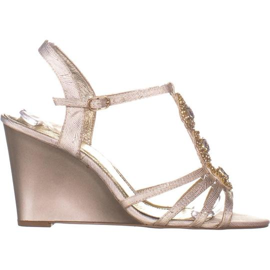 Adrianna Papell Beige Wedges Image 4