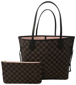 Louis Vuitton Neverfull Mm Neverfull Bal Neverfull With Pouch Neverfull Pink Tote in Rose Ballerine