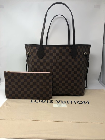 Louis Vuitton Neverfull Mm Neverfull Bal Neverfull With Pouch Neverfull Pink Tote in Rose Ballerine Image 1